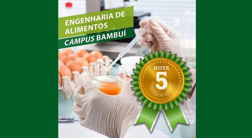Curso de Engenharia de Alimentos do Campus Bambuí recebe nota 5 em avaliação do MEC