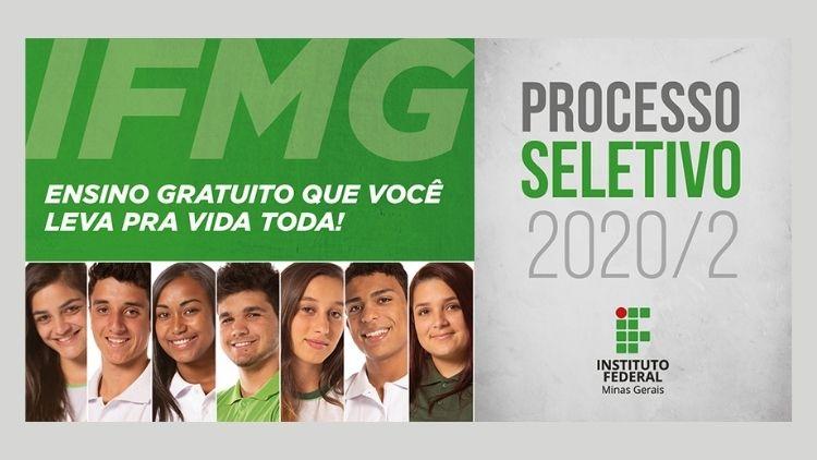 IFMG publica editais do Processo Seletivo 2020/2