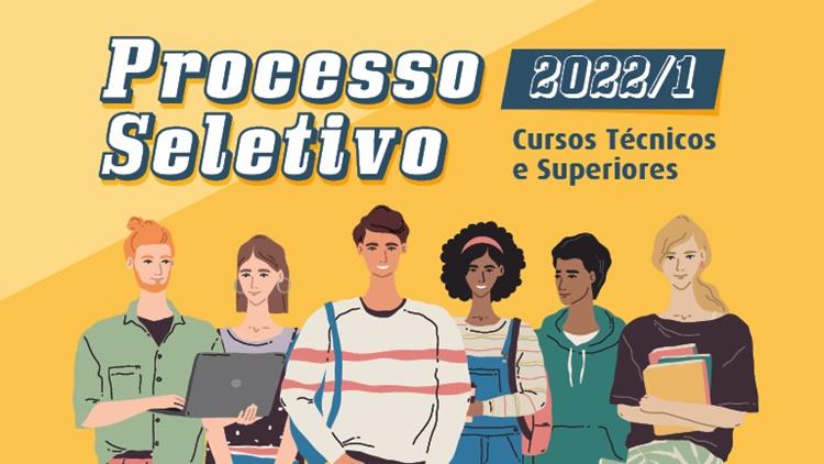 Processo Seletivo 2022/1: alteração dos editais