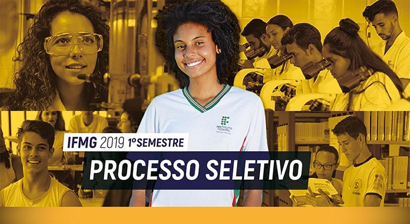 Processo Seletivo Primeiro Semestre de 2019